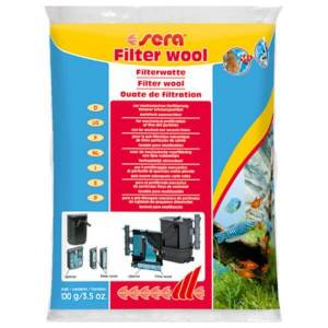 Wata do filtrów Sera filter wool 100g